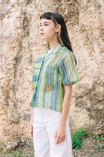 Load image into Gallery viewer, [NEW] Green Lapis Sheer Shirt by Tees & Scissors