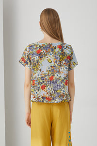 Tweed Flora Top by Ja.Socha