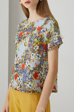 Load image into Gallery viewer, Tweed Flora Top by Ja.Socha