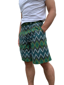 Chevron Shorts by Indiigo Culture