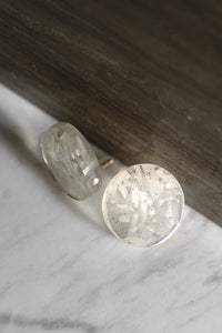 Daria Rice Stud Earrings by Oaksva