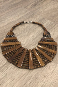Crescent Necklace by Pasang