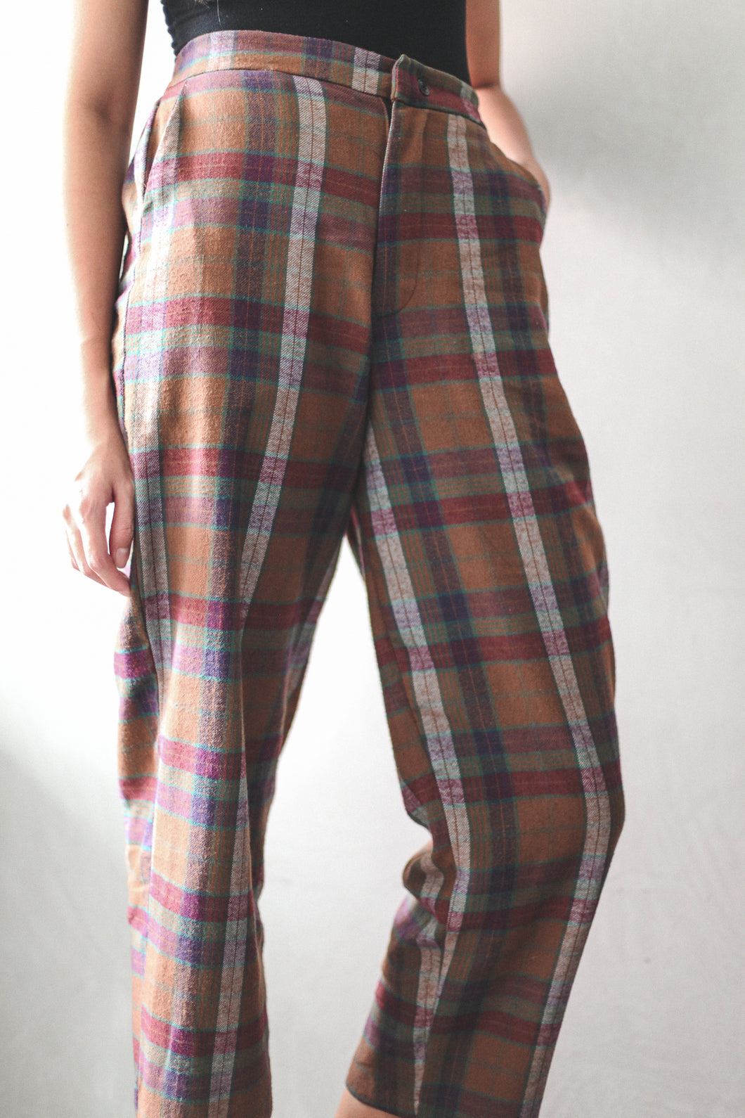 Tartan Trousers by Tees & Scissors