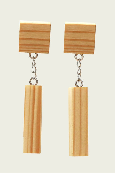 Althea Wood Earring by MUYU