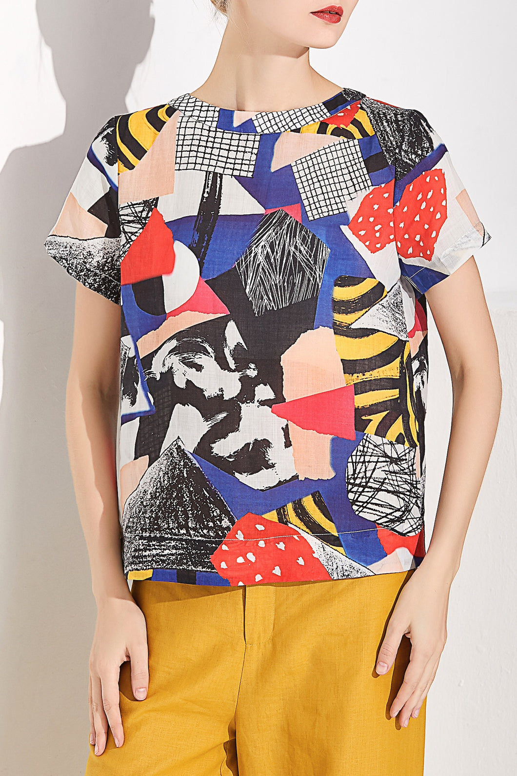 Patchwork Top by Ja.Socha