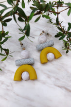Load image into Gallery viewer, Mini Ook Clay Earrings by Tsunja