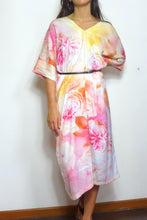 Load image into Gallery viewer, Rose Garden Silk Dress by Nat