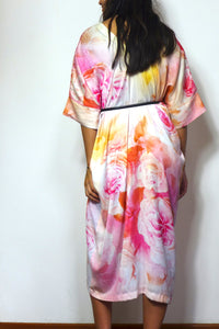 Rose Garden Silk Dress by Nat
