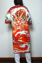 Load image into Gallery viewer, Dragon Lady Silk Robe by Nat