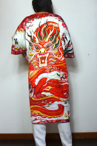 Dragon Lady Silk Robe by Nat