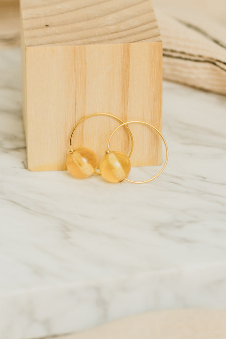 Matana Tumeric Earrings by Oaksva