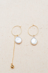 [NEW] Freshwater Pearl Avon Earrings by Nuavo