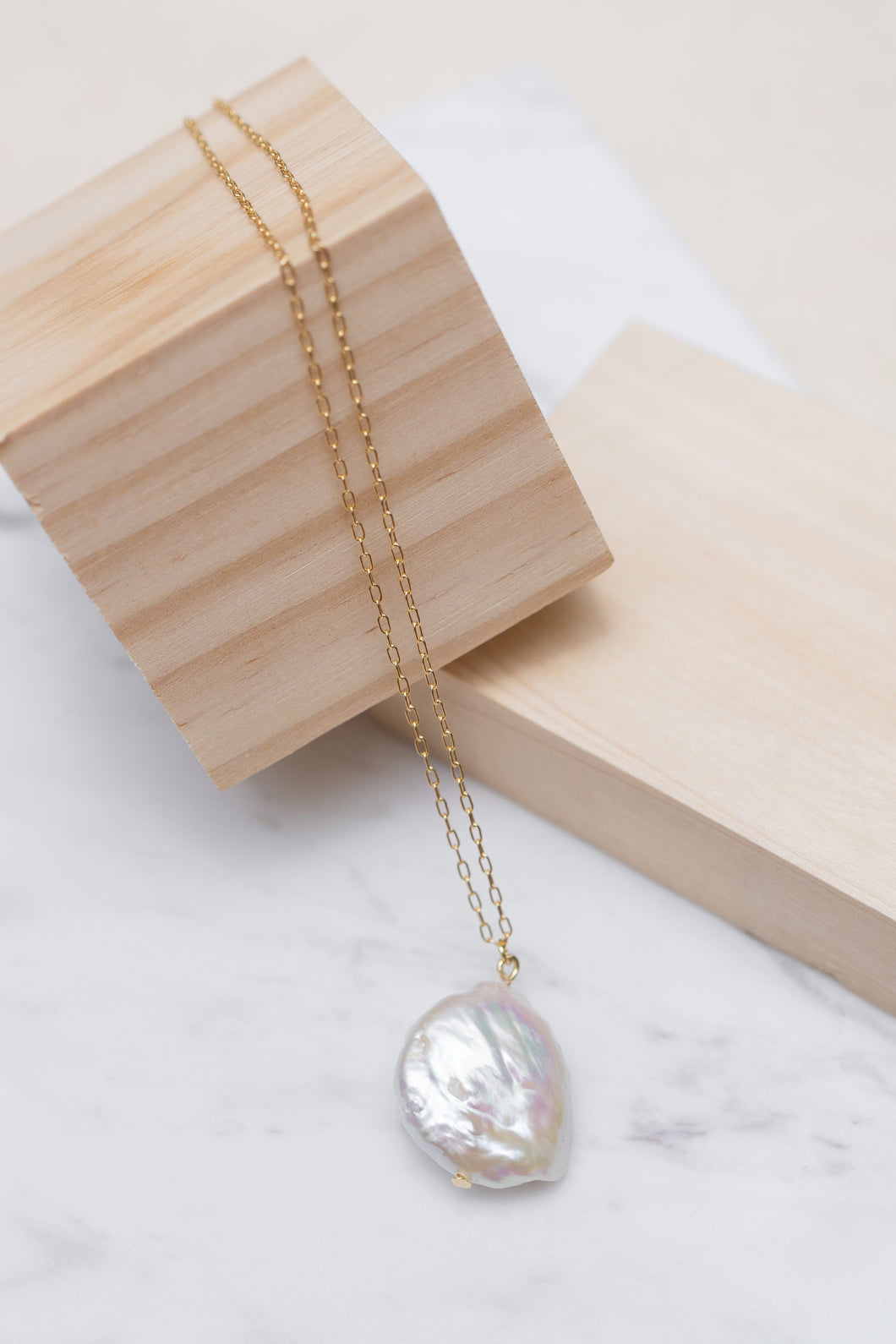 [NEW] Freshwater Pearl Grand Necklace by Nuavo