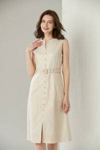 Shimmery Linen Dress by Ja.Socha