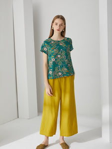 Blooming Citrus Top by Ja.Socha