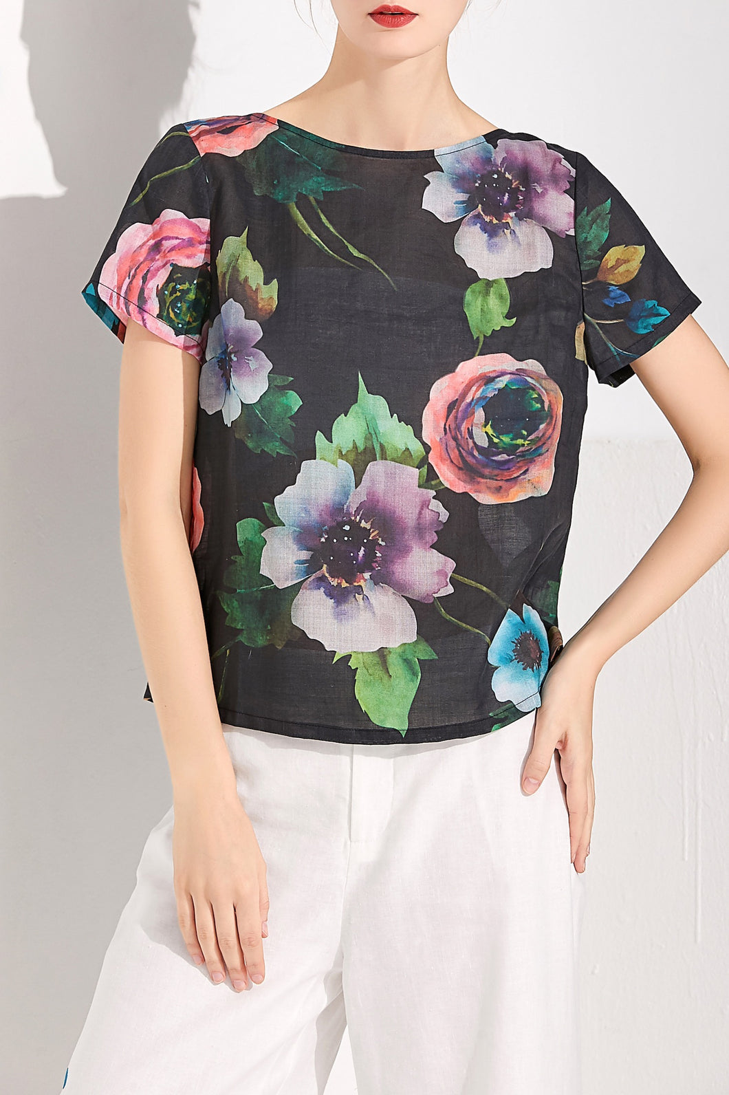 Night Bloom Top by Ja.Socha