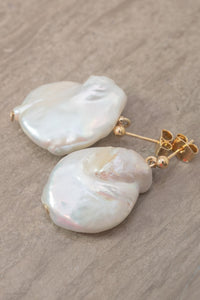Freshwater Pearl Grand Earrings by Nuavo
