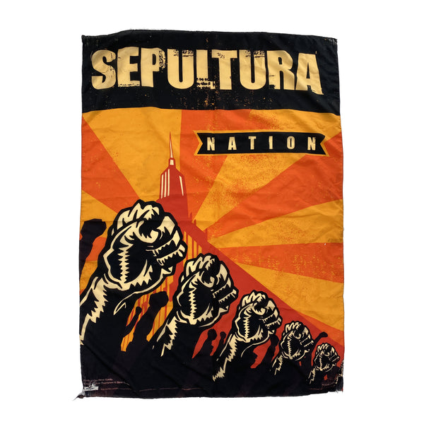 2001 SEPULTURA NATION FLAG