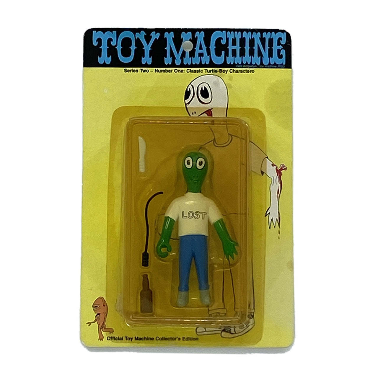 2000 TOYMACHINE 'TURTLE BOY' ACTION FIGURE