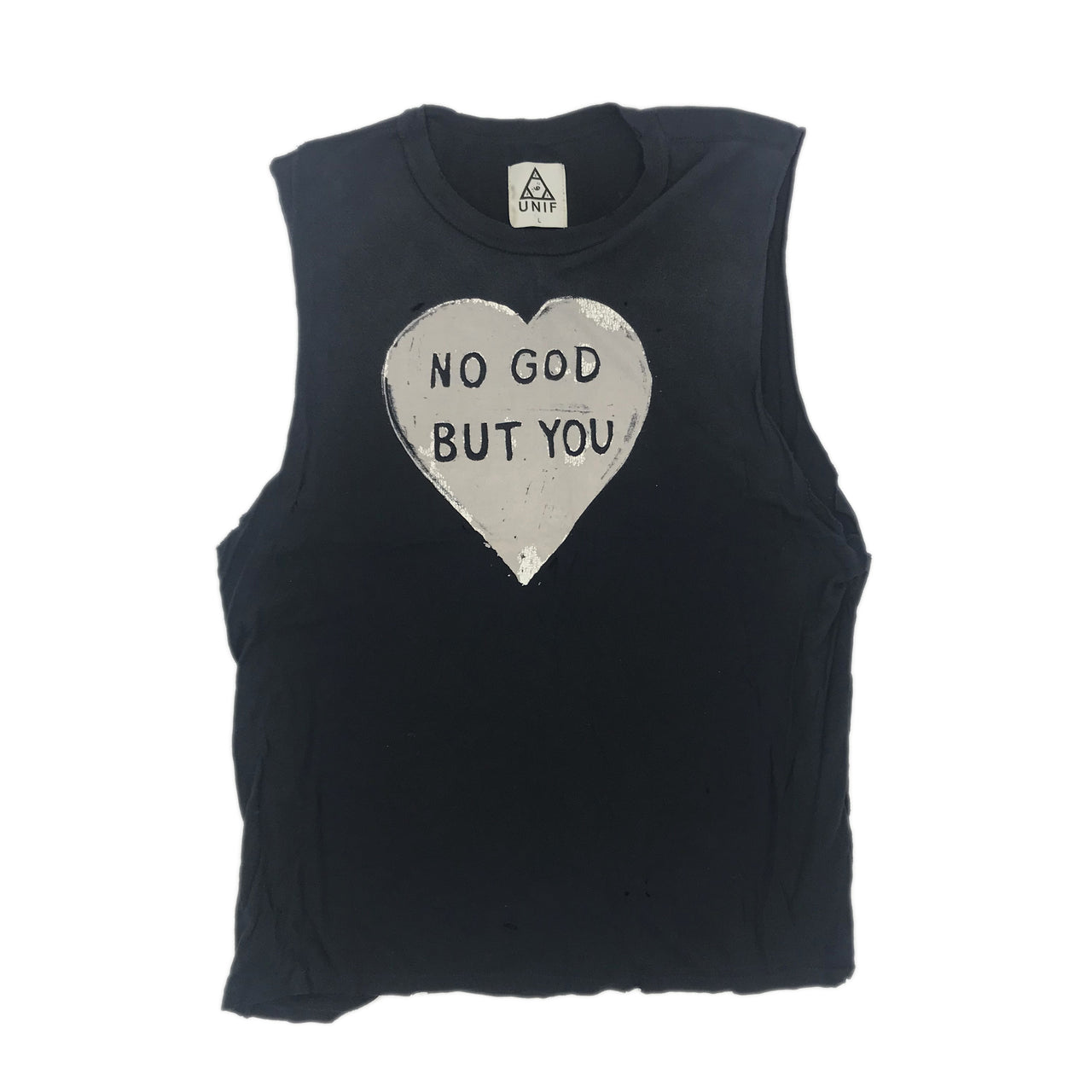 UNIF 'NO GOD BUT YOU' TANK