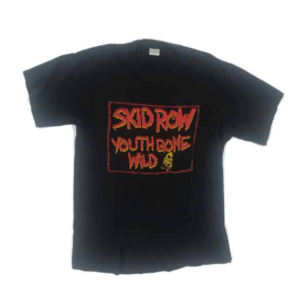 1989 SKID ROW 'YOUTH GONE WILD'