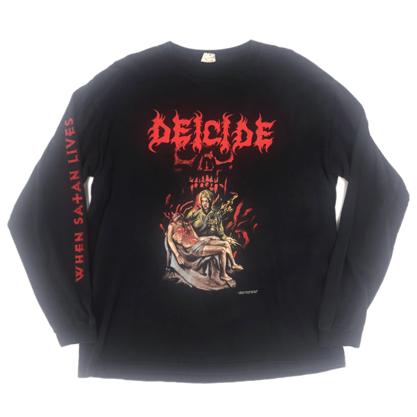 1998 DEICIDE 'WHEN SATAN LIVES'