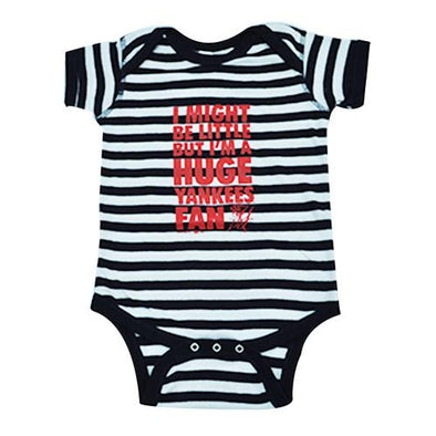 Pulaski Yankees Onesie - Navy Stripes