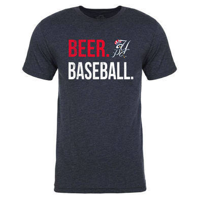 Pulaski Yankees Beer. Baseball. T-Shirt