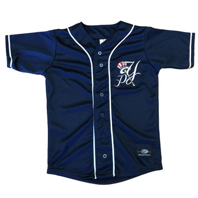 Pulaski Yankees Navy Jersey - Youth