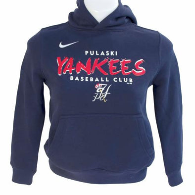 Pulaski Yankees Youth Pulaski Yankees Nike Hooded Sweatshirt