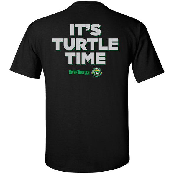 "River Turtles ""It's Turtle Time"" - Black"