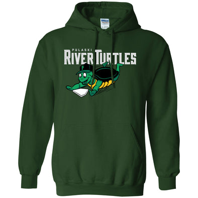 River Turtles Sweatshirt - Green