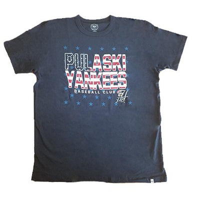 Pulaski Yankees Flag T-Shirt
