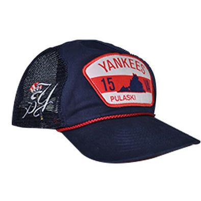 Pulaski Yankees Uncle Charlie Retro Snapback Cap