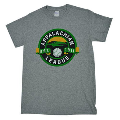 Pulaski Yankees Appalachian League T-Shirt - Gray