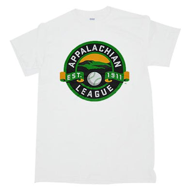 Pulaski Yankees Appalachian League T-Shirt - White