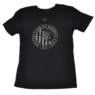Pulaski Yankees Baseball Club Nike T-Shirt - Black