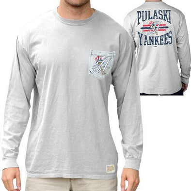 Pulaski Yankees L/S Pocket T-Shirt