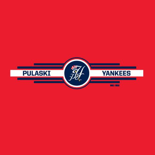 Pulaski Yankees Dri-Fit Nike T-Shirt - Red
