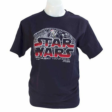 Pulaski Yankees Star Wars T-Shirt - Navy