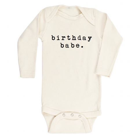 Birthday Babe - Bodysuit & Tee