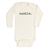 Cuddle - Bodysuit & Tee - Black