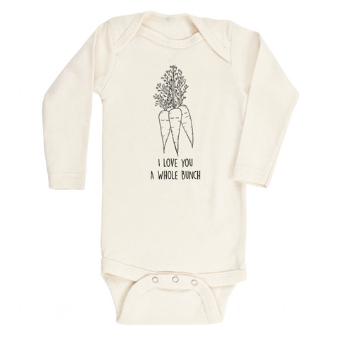 I Love You A Whole Bunch Carrots - Bodysuit & Tee