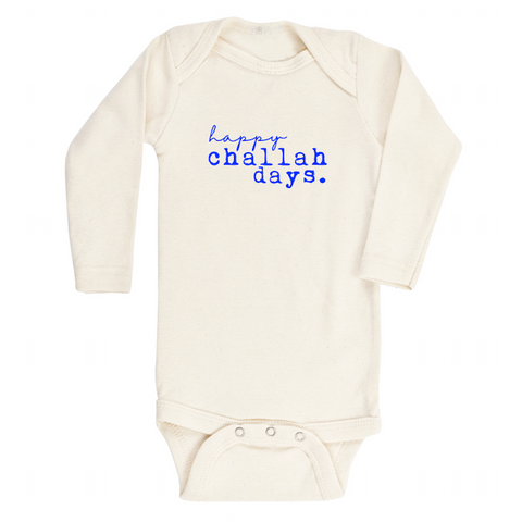Happy Challah Days - Bodysuit & Tee