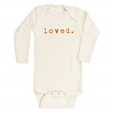 Loved - Bodysuit & Tee - Rust