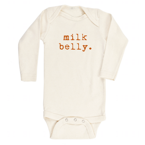 Milk Belly - Bodysuit & Tee - Rust