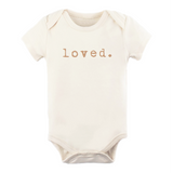 Loved - Bodysuit & Tee - Clay