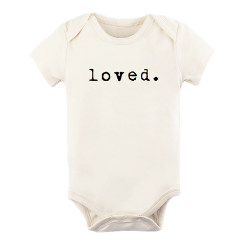 Loved - Bodysuit & Tee - Black
