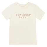 Birthday Babe - Bodysuit & Tee - Clay