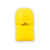 Yellow pencil eraser and sharpener